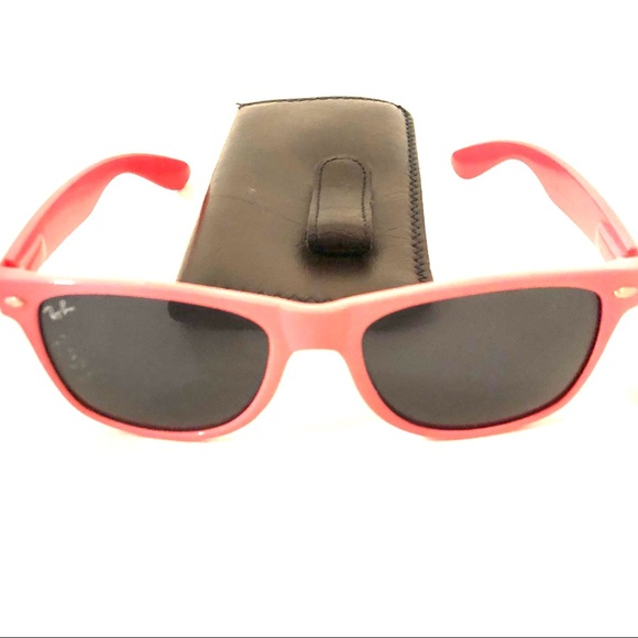c3b003eeab9 Ray-Ban pink sunglasses. 50% off! Authentic!!! M 5ae107548df47035a0d068d2